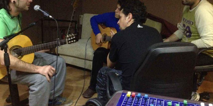 Recording Los Zagales